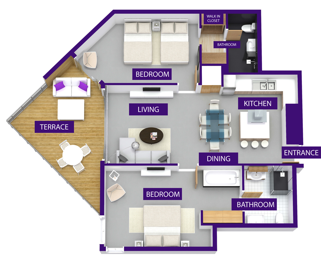 UV A-202 FLOOR PLAN