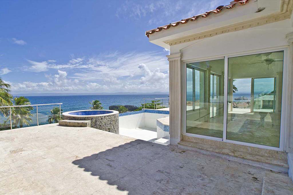 villa 2 beachfront community for sale in samana views punta balandra