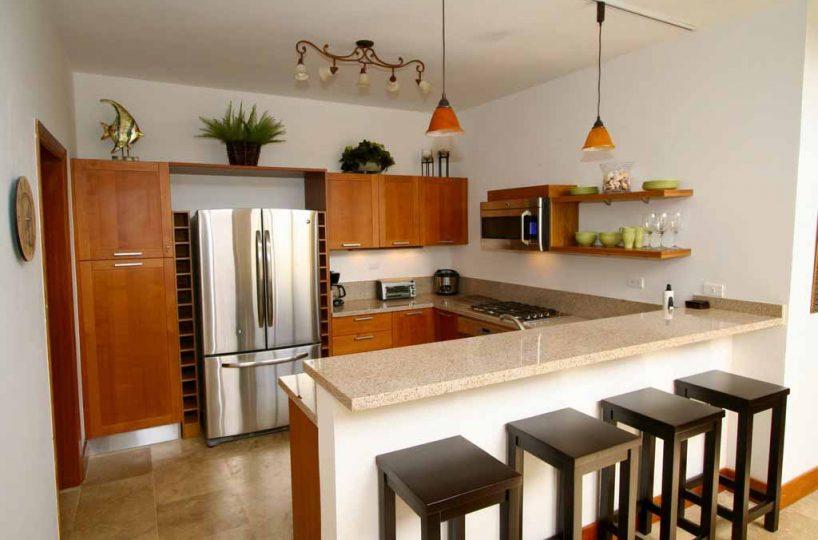Puerto Bahia Villa 36 Kitchen with Wine Rack