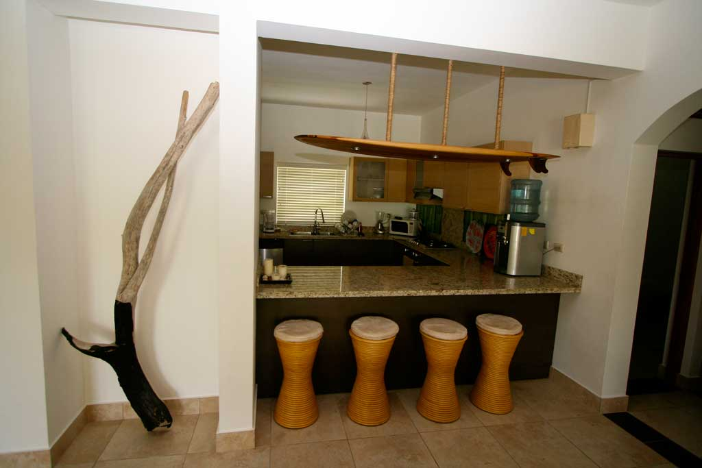 Ocean One Condo 2112 kitchen
