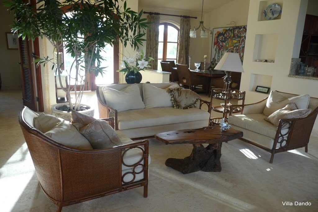 Villa Dando interior