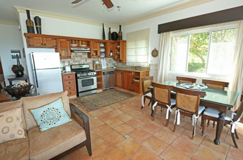 Blue Fish Condos view to kitchen