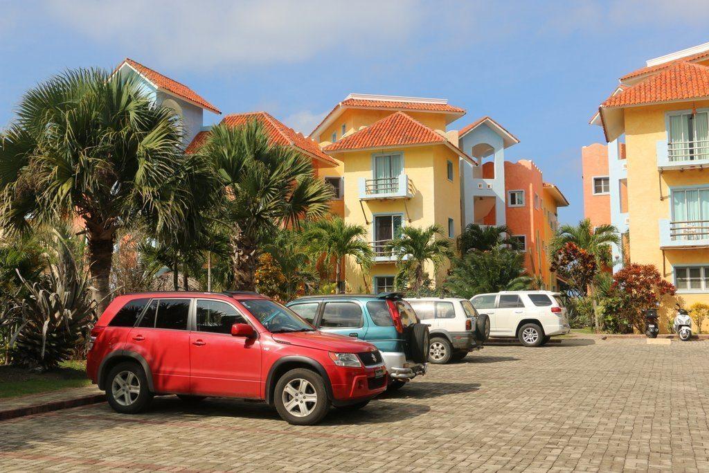 Blue Fish Condos car parking