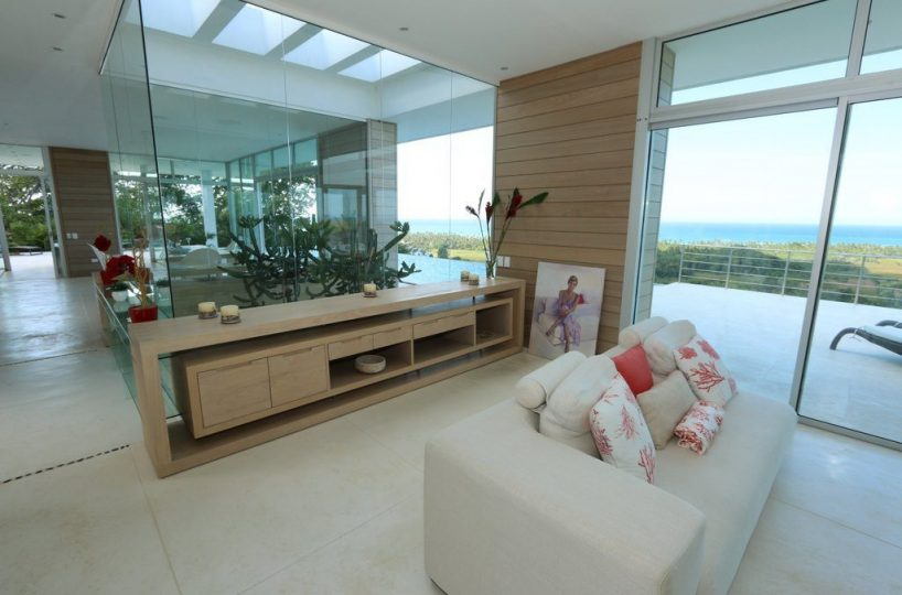 Further Interior Views - The patio doors and glass ceiling provide lots of light to the interior and open views outside.