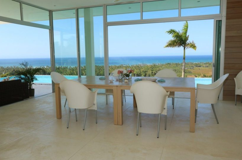 Dining Area - The villa dining area also has open views.