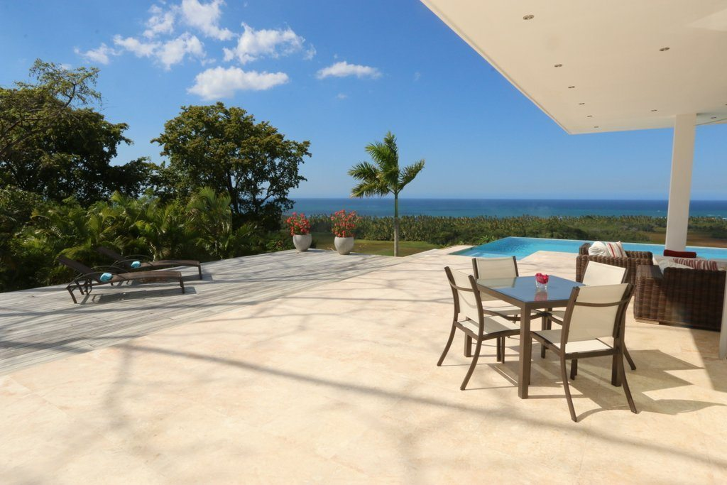 Open Views - Further views from the villa terraces