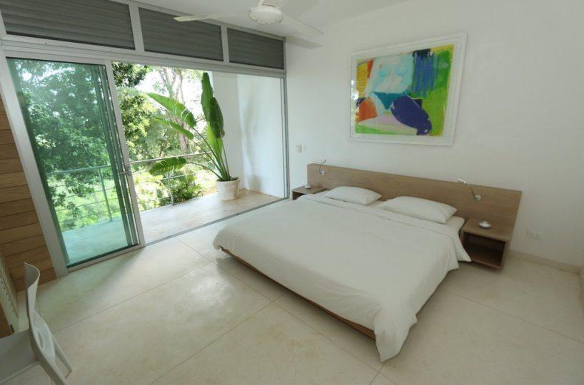 Master Bedroom - The villa's master bedroom