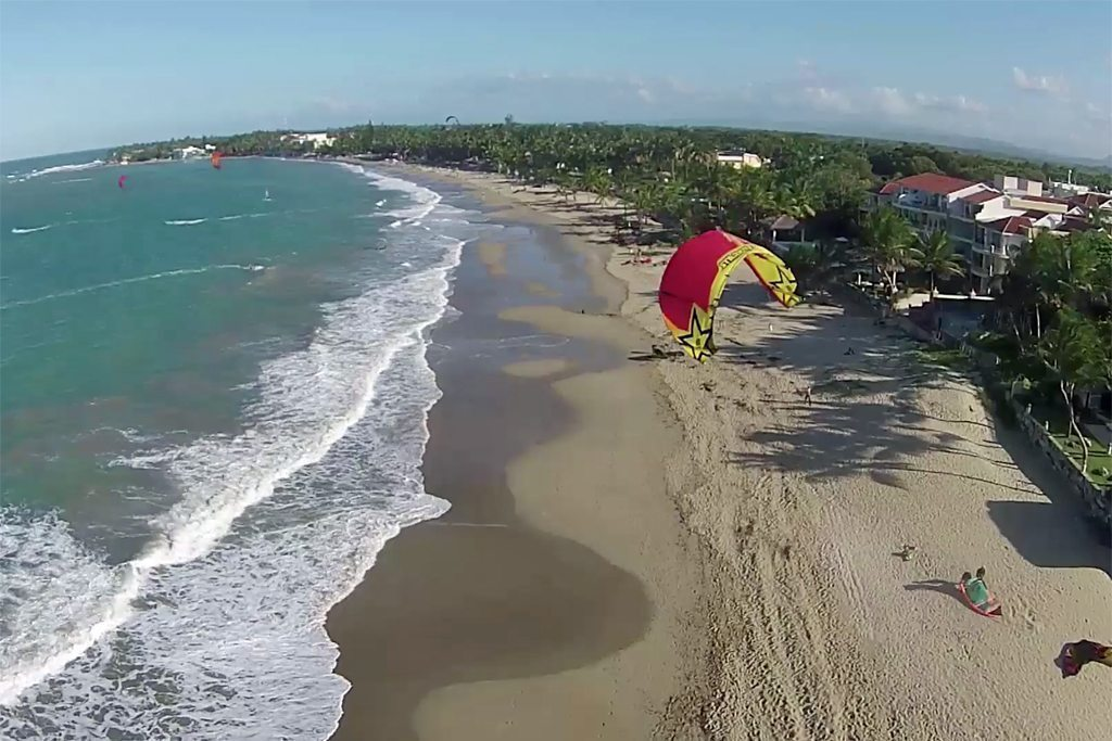 08-Cabarete-Kiting