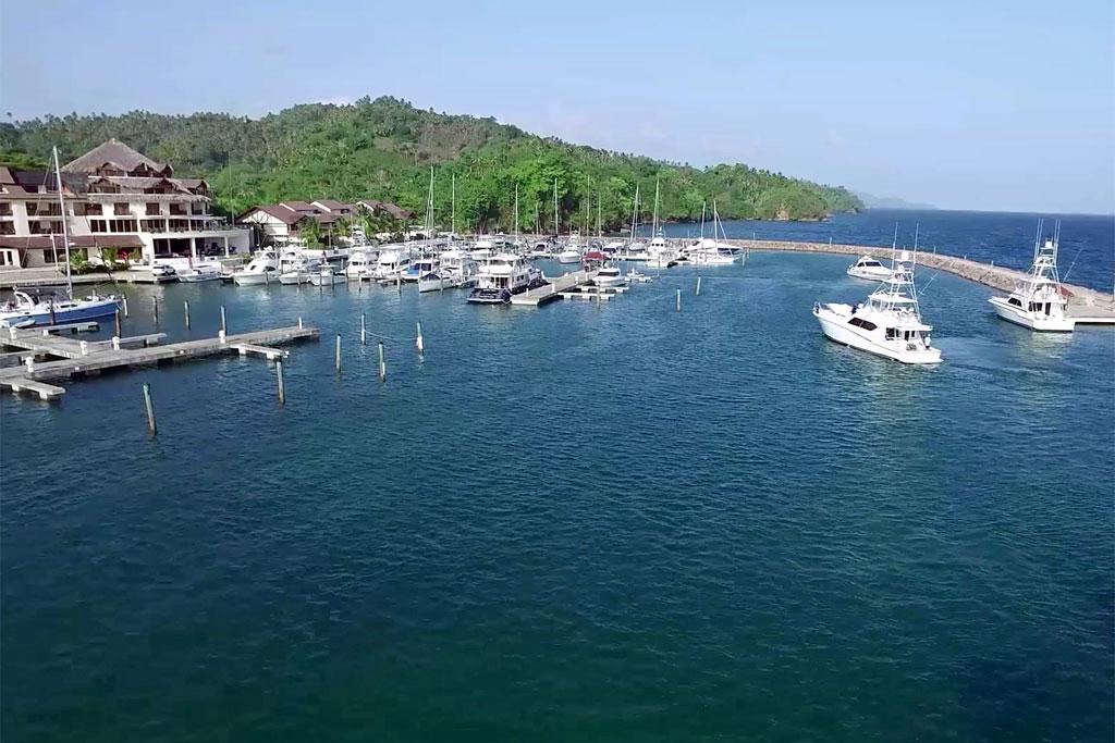 Arial Puerto Bahia Marina