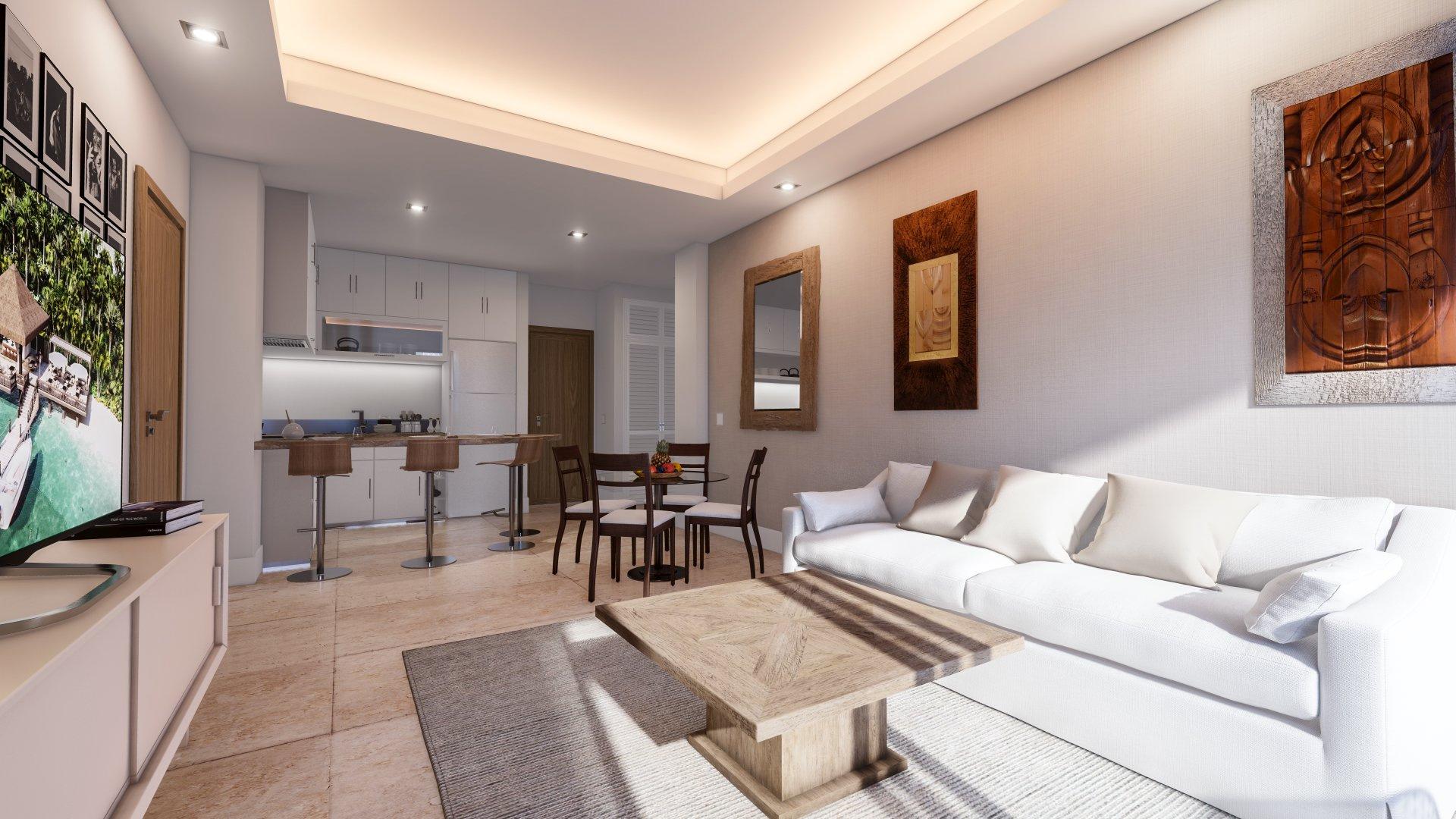Hacienda Samana Bay Living Room Design
