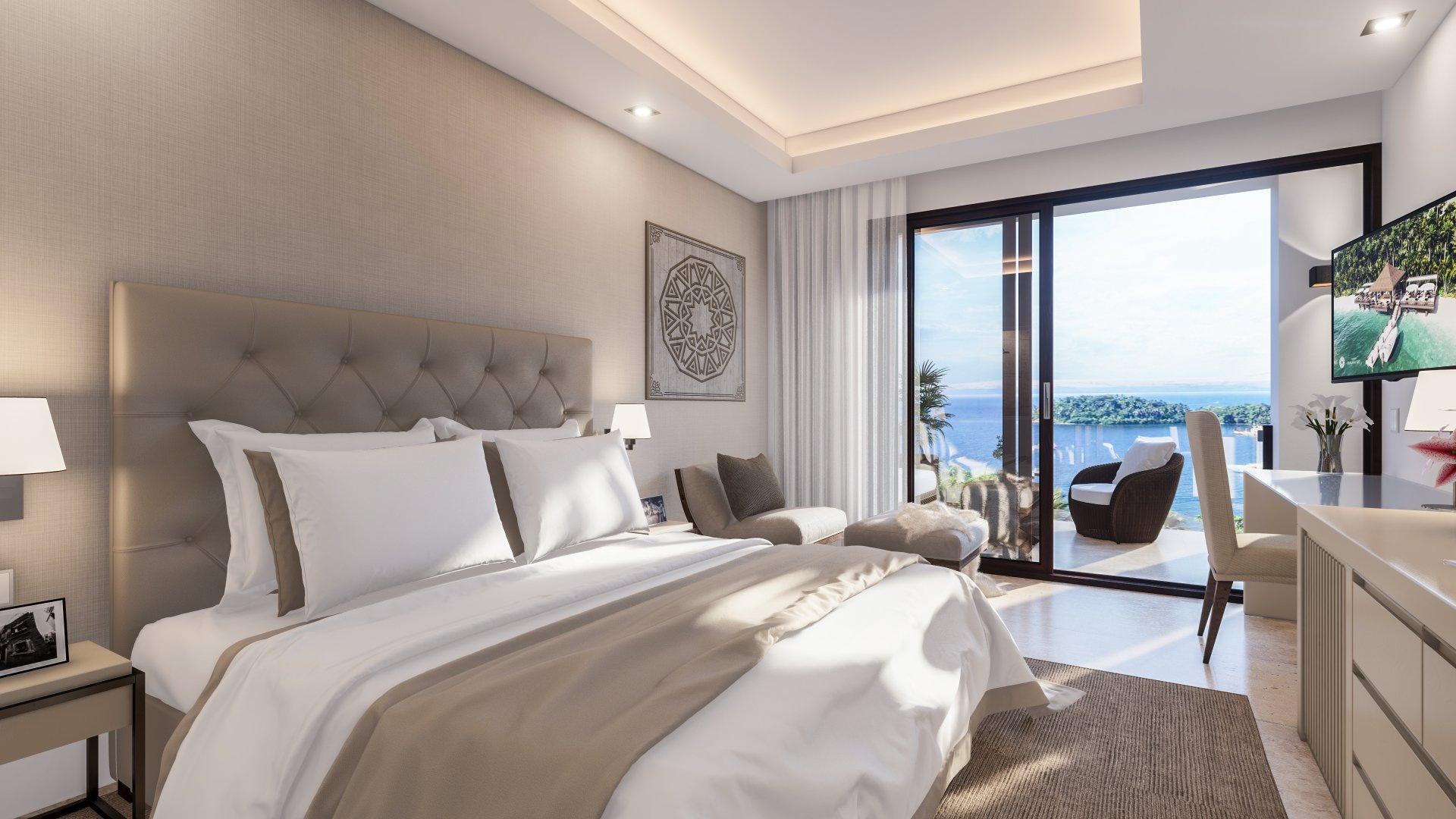 Hacienda Samana Bay Master Bedroom Ocean View