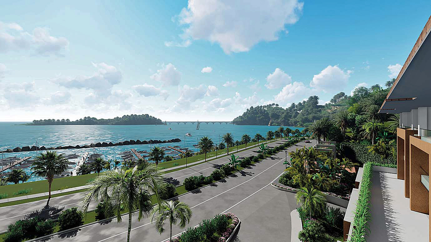 hacienda-samana-bay-b1-terrace-show-views-to-the-bridge