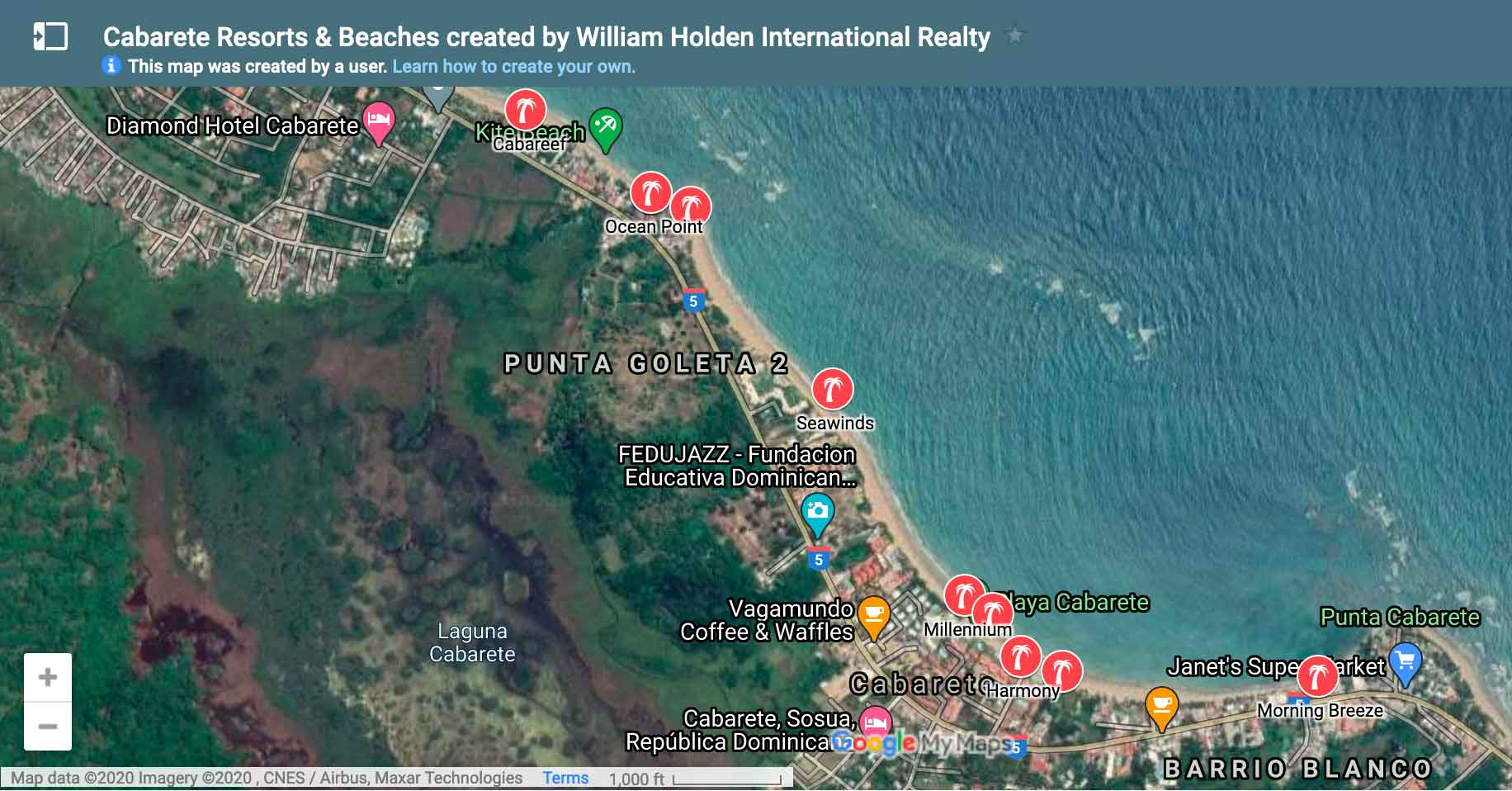 Cabarete-Resort-Map