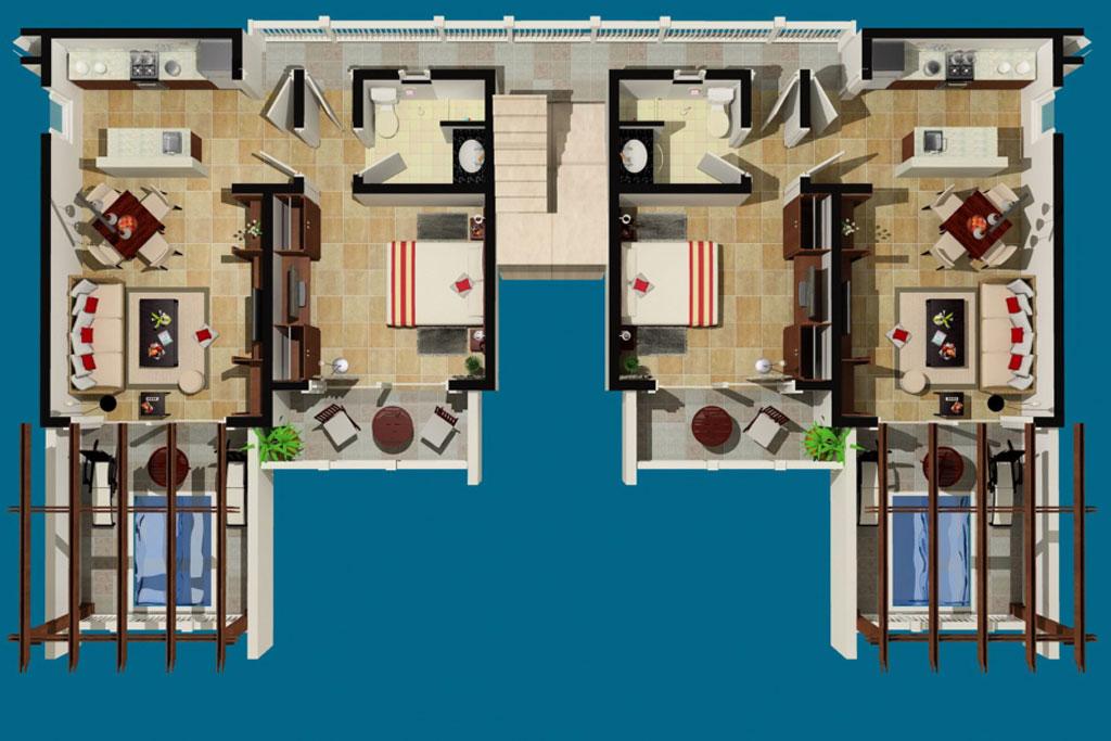 Floor-Plan Design XIV-101