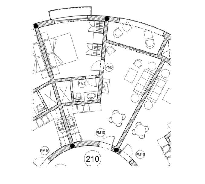 Condo For Sale Puerto Bahia Floor Plan PBS-CH-210