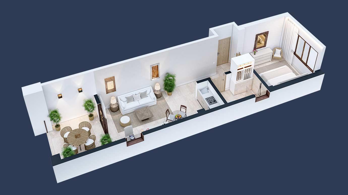 hacienda-samana-bay-1-bedroom-floor-plan-condo-design