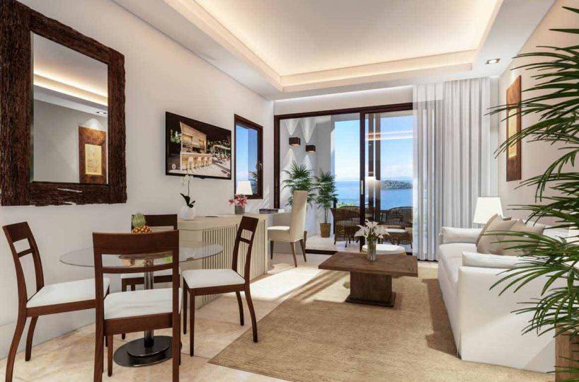 hacienda-samana-bay-studio-ocean-views-for-sale-residencial-community-1br-dining-view