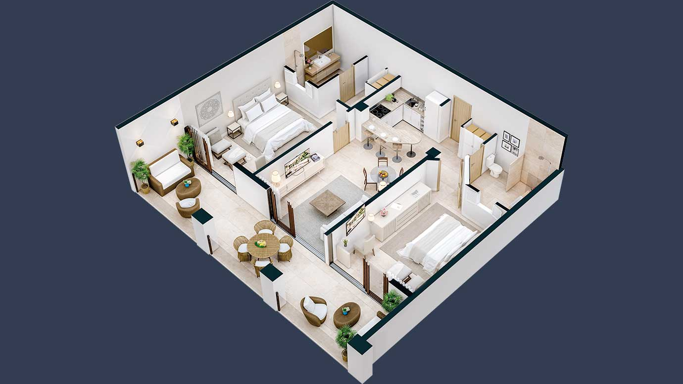 hacienda-samana-bay-2-Bedroom-for-sale-premium