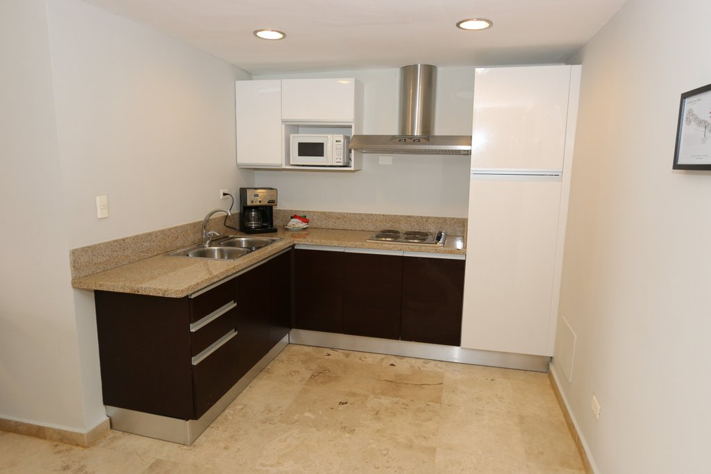 Puerto Bahia Condo For Sale 1 Bed Marina View Kitchen Area View