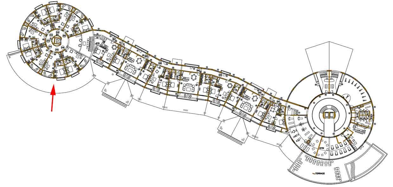 Puerto Bahia Hotel Floor Plan-213