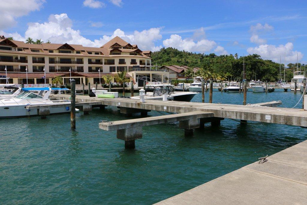 Puerto Bahia Marina Looking to Bannister Hotel