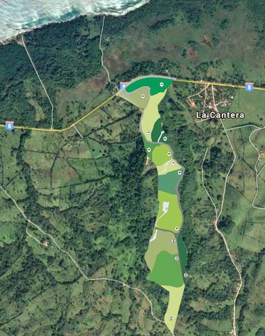 Rancho Santuario Site Plan
