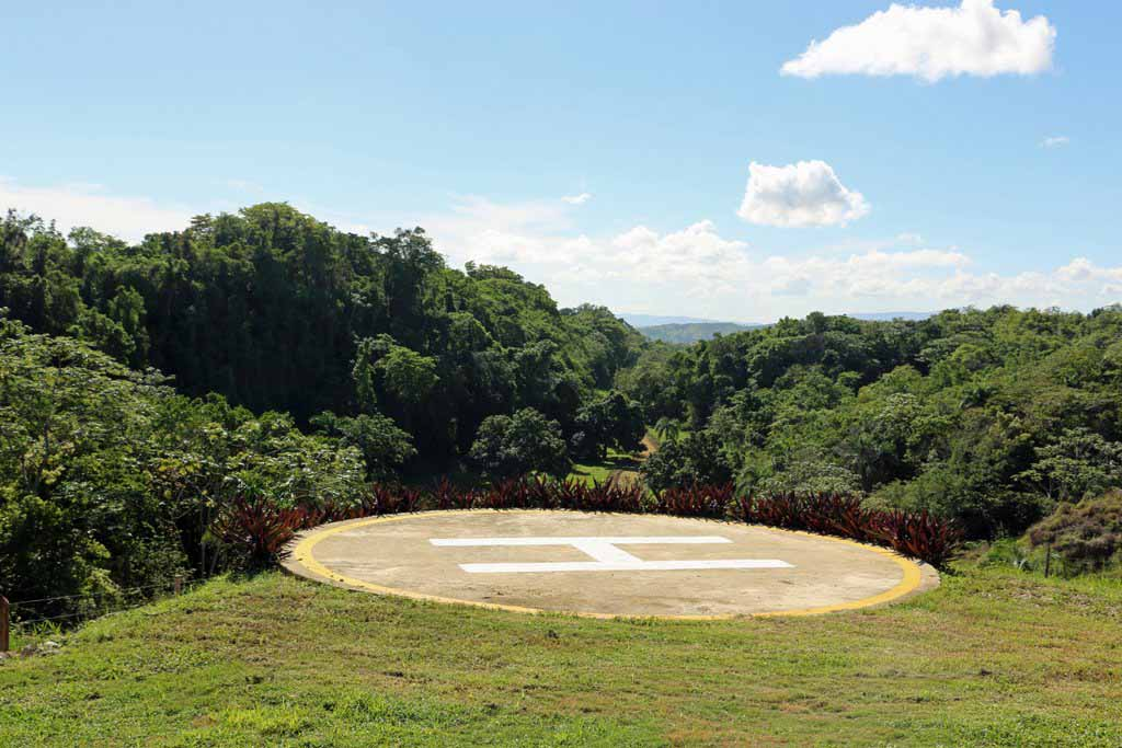 Rancho-Santuario-Helicopter-Pad