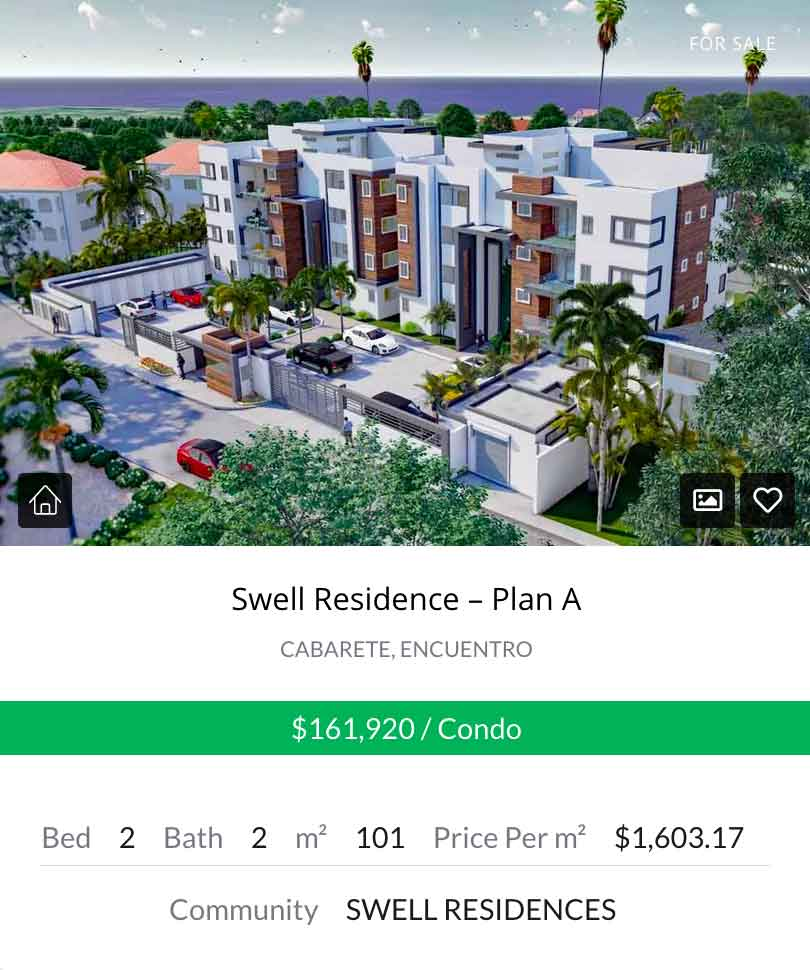 Swell Residences 2BR Widget